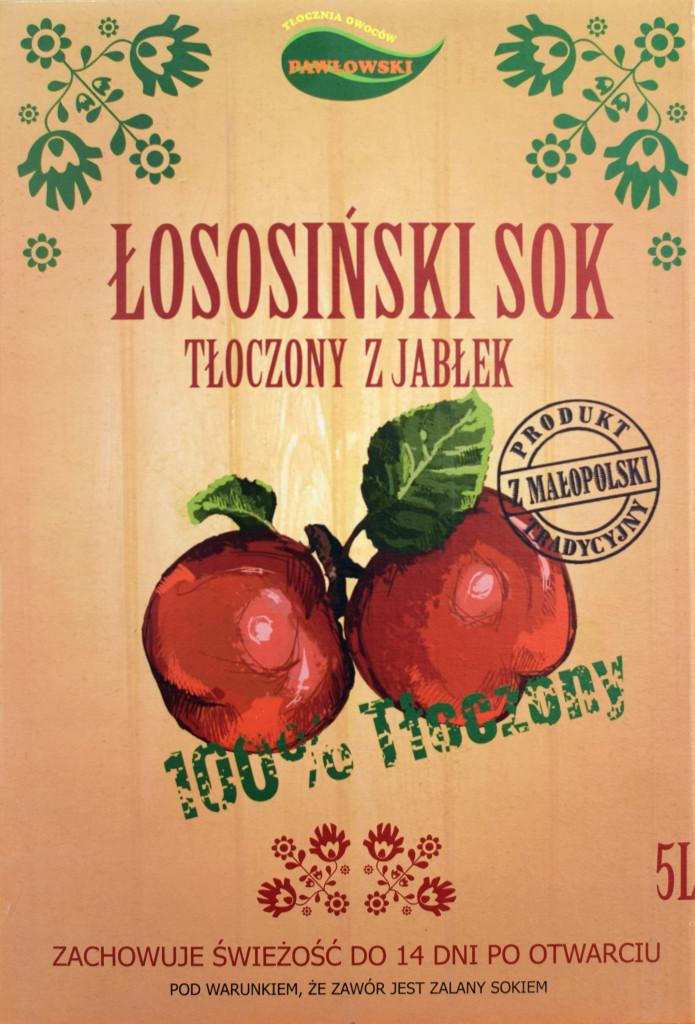 Łososiński sok jabłkowy - Tradycyjny Produkt z Małopolski